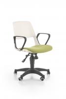 Jaunuolio kėdė JUMBO balta/žalia