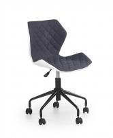 Jaunuolio kėdė MATRIX balta/pilka Jaunuolio kėdės