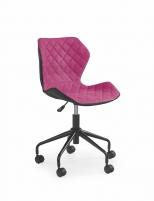 Jaunuolio kėdė MATRIX juoda/rožinė