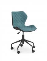 Jaunuolio kėdė MATRIX juoda/turkio