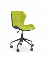Jaunuolio kėdė MATRIX juoda/žalia