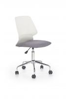 Jaunuolio kėdė SKATE balta/pilka Jaunuolio kėdės