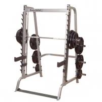 Jėgos stovas / stovas pritūpimams Body-Solid GS348 PRO Įranga sporto klubams