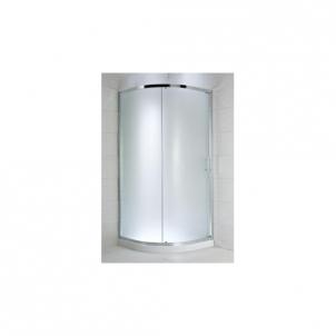 Jika Cubito Pure pusapvalė dušo kabina 90x90 L/R Dušo kabinos