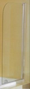 JIKA Cubito vonios sienelė, 75x 140 cm, dešinės pusės, 1-os dalies Dušo sienelės, durys