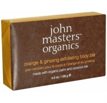 John Masters Organics Orange & Ginseng Exfoliating Body Bar Cosmetic 128g Muilas