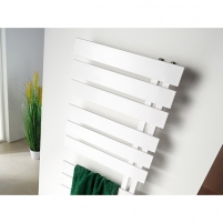 Juodojo metalo gyvatukas NAMELESS NAM-50/90, balta struktūrinė spalva Elektriskie dvieļu turētāji ar savienojumiem