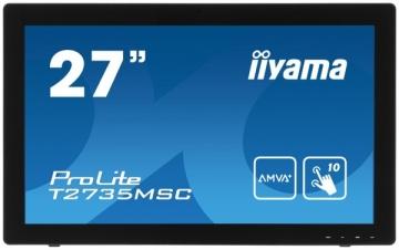 Jutiklinis monitorius Iiyama T2735MSC-B2 27, 5ms, VGA, DVI-D, HDMI, juodas