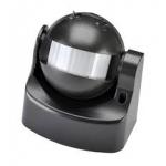 Jutiklis judesio 180°, 1000W, IP44, 10m, paviršinis, juodas, GTV CR-CR1000-10 Various sensors