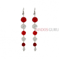 Hanging earrings A860