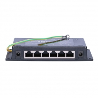 Kabelis EXTRALINK 6 Port Passive or 802.3af/at PoE Injector 1 GbE 18v~57v DC 90W (Max) Tv, telephone and computer cables
