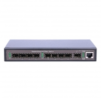 Kabelis EXTRALINK HERMES 9-PORTS UNMANAGED GIGABIT SWITCH 8X 1000M SFP PORTS + 1X 1000 S Tv, telephone and computer cables