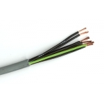 Kabelis kontrolinis, YSLY CY-OZ 3x1,5mm2, varinis lankstus apvalus pilkas ekranuotas Control of copper cables