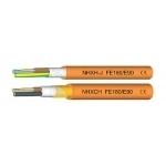 Kabelis nedegus, NHXH 4x1,5mm2, varinis monolitinis apvalus oranžinis Variniai instaliaciniai kabeliai