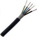 Kabelis požeminis, CYKY 5x95mm2, varinis monolitinis apvalus juodas (NYY-J) SW Copper wiring cables