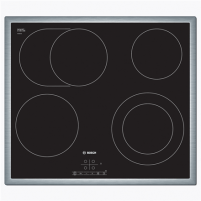 Kaitlentė Bosch Hob PKN645B17 Electric, Number of burners/cooking zones 4, Black, Display, Timer