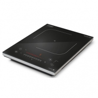 Cooktop Caso PRO Slide 2100 Single Induction hob, 12 power levels, 12 temperature levels, Slide technology, Timer, 2000W, Black Cooktop