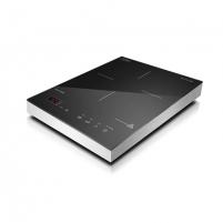 Kaitlentė Caso S-Line 2100 Single Induction hob, 12 power levels, 12 temperature levels, Timer, 2100W, Aluminium  case colour