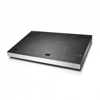 Kaitlentė Caso S-Line 3500 Domino Induction hob, 12 power levels, 12 temperature levels, Sensor touch display, Smart Control, Timer, 3500W, Black
