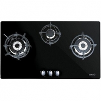 Cooktop CATA Gas Hob ENCIMERA 912 LCI Built in, Number of burners/cooking zones 3, Black,