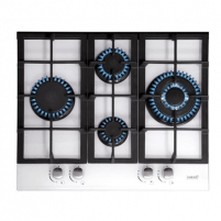 Cooktop CATA hob LCI 6031 WH Gas, Number of burners/cooking zones 4, White,