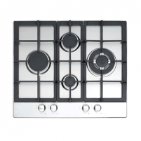 Cata LGD 631A Built-In gas Hob, 4 Areas, Flame Failure device, Cast iron grilles/burners, Autoignition, Inox