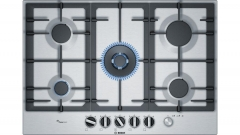 Kaitlentė Gas hob Bosch PCQ7A5M90 Įmontuojamos kaitlentės