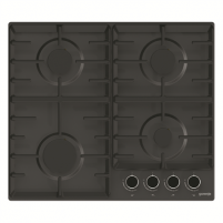 Cooktop Gorenje Hob G641BMB Gas, Number of burners/cooking zones 4, Black,