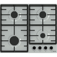 Cooktop Gorenje Hob G641BX Gas, Number of burners/cooking zones 4, Stainless steel,