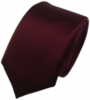 Kaklaraištis N.Ties Silk tie-KUACH002 Burgundy Kaklaraiščiai
