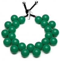 Kaklo papuošalas #ballsmania Original Necklace C206 15-5722 Verde Bottiglia