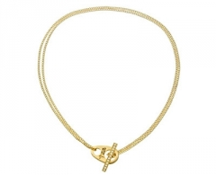 Kaklo papuošalas Guess Elegant gilt necklace UBN51447
