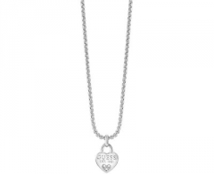 neck jewelry Guess Heart Necklace UBN82094