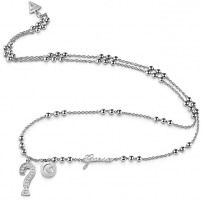 Kaklo papuošalas Guess Long necklace with beads UBN85009