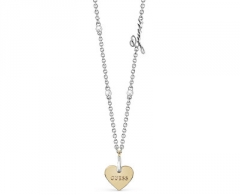 Kaklo papuošalas Guess Necklace with heart UBN84072
