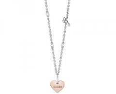 Kaklo papuošalas Guess Necklace with heart UBN84073