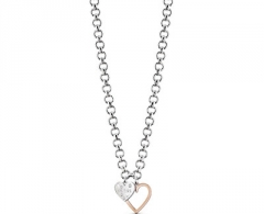 neck jewelry Guess Necklace with hearts UBN84014