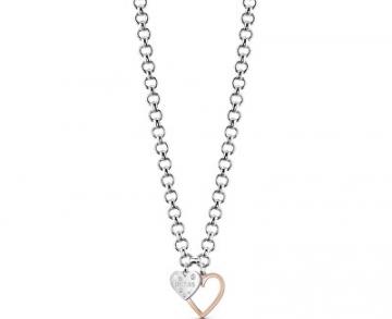 Kaklo papuošalas Guess Necklace with hearts UBN84014