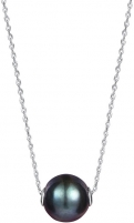 Kaklo papuošalas JwL Luxury Pearls Ladies´ Black Pearl Pearl Necklace JL0582 (chain, pendant) Kaklo papuošalai