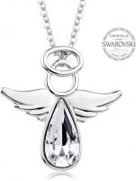 Kaklo papuošalas Levien Crystal Crystal Necklace Angel Rafael Kaklo papuošalai