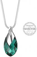neck jewelry Levien Women´s Pear Metcap Emerald Neck jewelry