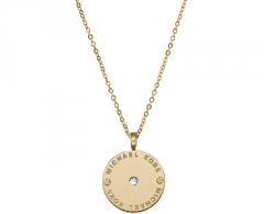 Kaklo papuošalas Michael Kors Jemný pozlacený náhrdelník z oceli MKJ2654710 Kakla rotas