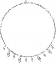 Kaklo papuošalas Morellato Silver necklace Foglia SAKH43