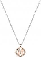 Kaklo papuošalas Morellato Steel necklace with four-leaf clover Multigipsy SAQG26