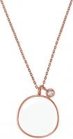 neck jewelry Skagen Bronzový náhrdelník s přívěskem SKJ0567791 Neck jewelry