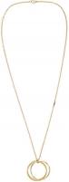 neck jewelry Tommy Hilfiger Pozlacený náhrdelník s přívěskem TH2700562 Neck jewelry