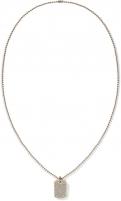 neck jewelry Tommy Hilfiger Náhrdelník Psí známka s čirými krystaly TH2700749 Neck jewelry