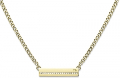 neck jewelry Tommy Hilfiger Gentle necklace with crystals TH2700919