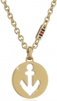 neck jewelry Tommy Hilfiger Gold-plated necklace for women TH2700928