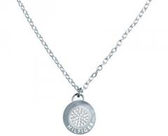 neck jewelry Tommy Hilfiger Ocelový náhrdelník s přívěskem TH2700563